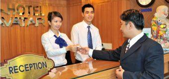 Bộ phận tiền sảnh khách sạn – công việc lý tưởng