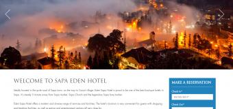 Xu hướng thiết kế website khách sạn 2018
