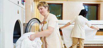 Bộ phận Laundry tại khách sạn