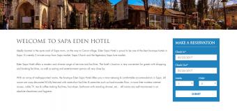 Lý do không thể thiết kế website khách sạn