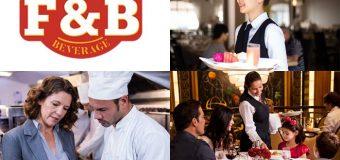 F&B và tầm quan trọng trong kinh doanh khách sạn